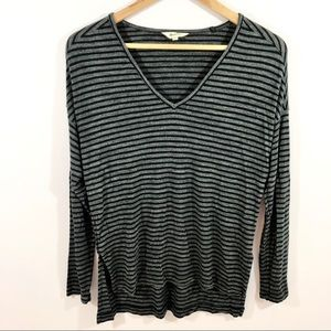 Madewell Tops - Madewell Anthem Stripe V-Neck Tee